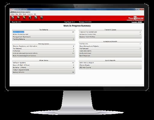 Computer Screen with desktop screenshot
